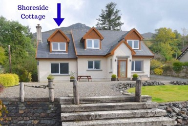 Shoreside Cottage in Lochgoilhead